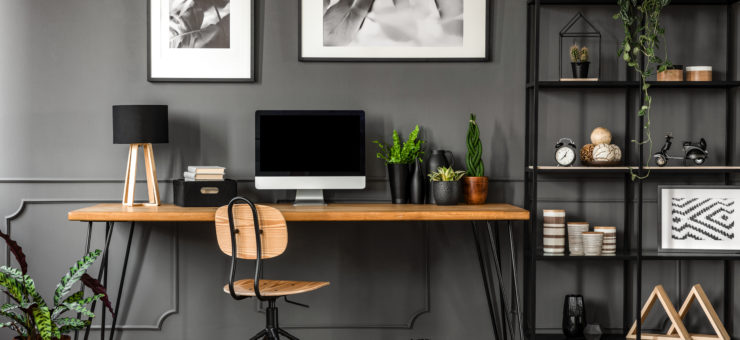 Make The Perfect At-Home Office Space